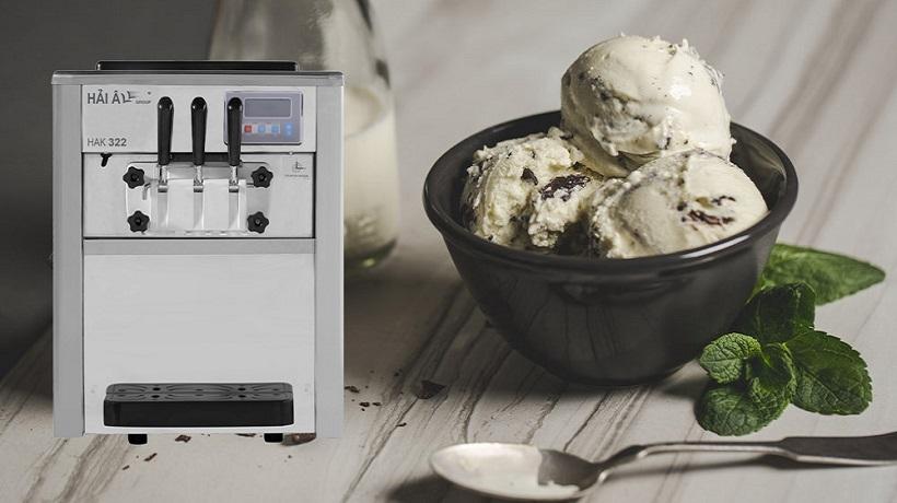bật mí chiếc máy làm kem gia đình cực chất