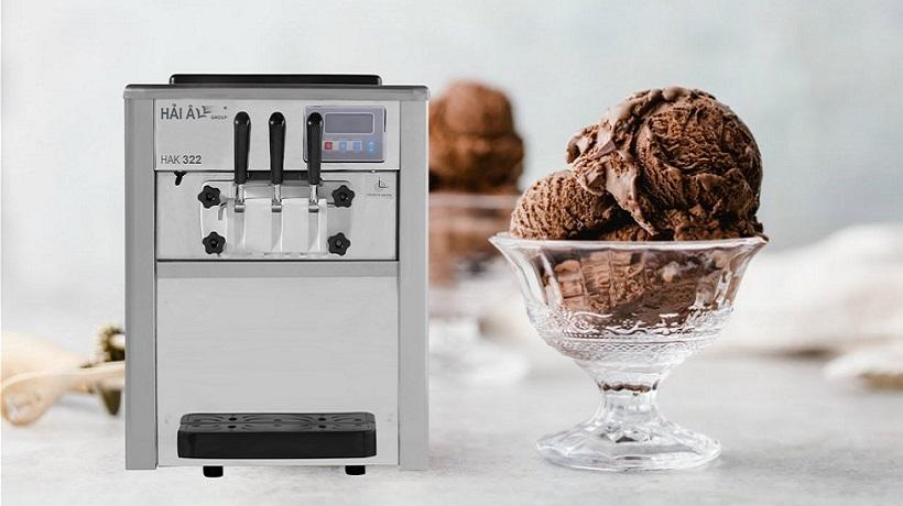 cách làm kem thơm ngon với máy làm kem hải âu