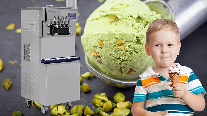 hướng dẫn làm kem tươi bằng máy làm kem hải âu