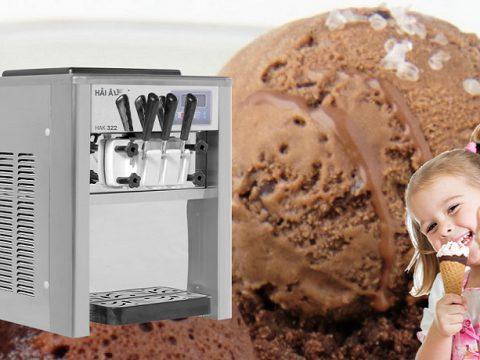 máy làm kem tươi hải âu trợ thủ đặc lực kinh doanh kem tươi