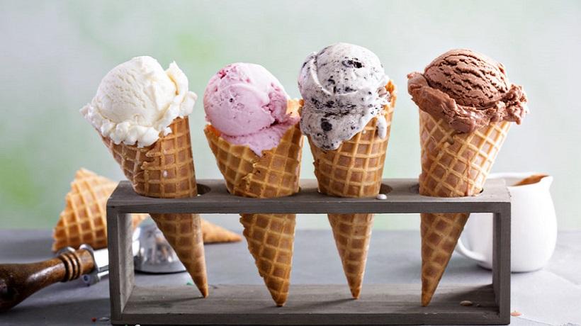 máy làm kem tươi bao gồm những bộ phận nào?
