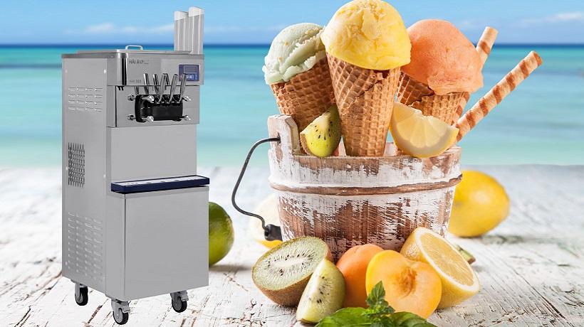 một số tiêu chí khi mua máy làm kem