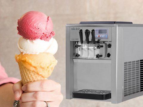top 3 máy làm kem tươi đang làm mưa làm gió trên thị trường