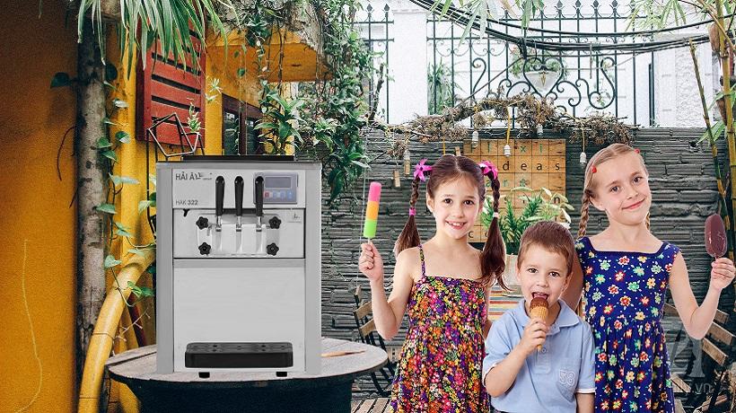 tư vấn mua máy làm kem tươi hải âu